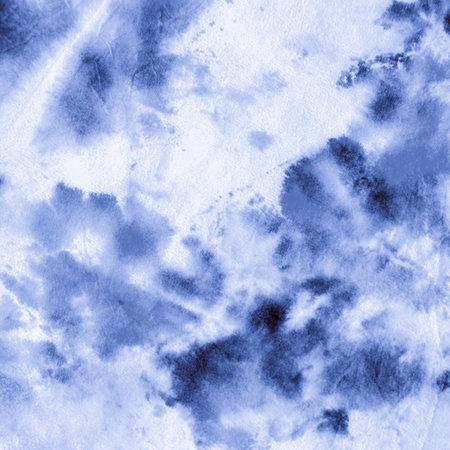 Paint Watercolour Splatter. Indigo Denim Ink on Paper. Artistic Craft Surface. Watercolour Abstract Water. Oil Pattern. Paintbrush Wallpaper. Indigo Denim Paint Watercolor Abstract.