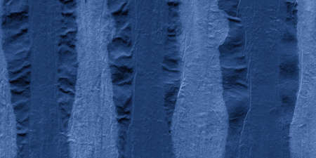 Indigo Striped Tie Dye. Space Paint Textile Design. Night Ink Painted Spots. Marble Grunge Ethnic Background. Night Handmade Wallpaper. Indigo Shibori Pattern. Banco de Imagens