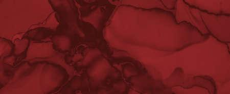Abstract Blood Background. Red Fluid Wallpaper. Halloween Splatter Black. Watercolor Murder Pattern. Blood Background. Grunge Fluid Banner. Horror Splatter Black. Watercolour Blood Background.