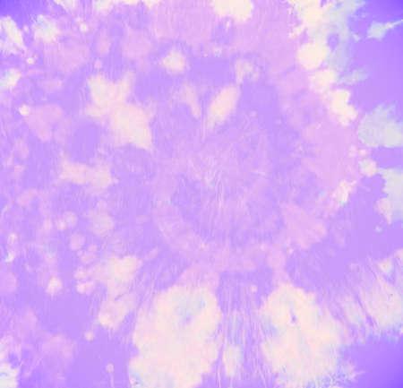 Watercolor Old Pattern. Art Ink Dress. Artistic Grunge Design. Spiral Color Print. Tye Dye Circular Painting. Purple Hippie Shirt. Abstract Circle Texture. Batik Fabric. Hippie Shirt. Banque d'images
