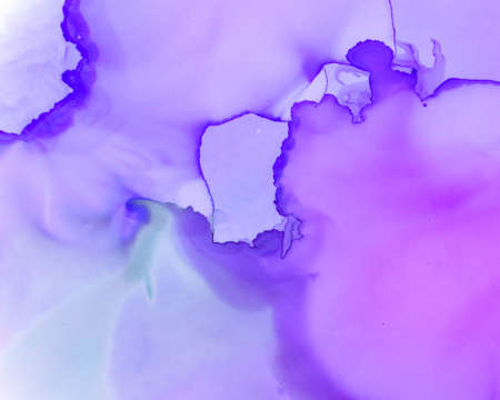 Ethereal Art Pattern. Liquid Ink Wash Wallpaper. Lilac Creative Spots Canvas. Alcohol Inks Flow Design. Ethereal Water Pattern. Liquid Ink Wave Background. Pink Ethereal Paint Pattern.