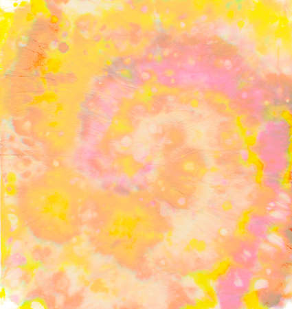Psychedelic Ink Patterns. Pastel Spiral Tie-dye. Hippie Swirl Texture. Artistic Fabric. Tye Dye Art Painting. Circular Dyed Dress. Color Pattern. Batik Paint. Circle Spiral Tie-dye. Banque d'images - 168308273