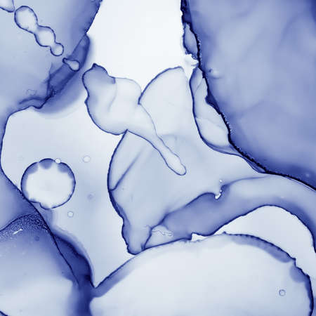 Airy Ink Painting. Fluid Flow Wallpaper. Indigo Marble Print. Ink Paint. White Geode Art. Navy Mix. Ethereal Modern Drops. Snow Effect. Blue Oil Pattern. Liquid Ink Paint.