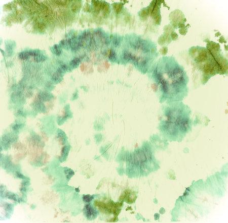 Texture Tie Dye. Batik Watercolor Background. Abstract Backdrop. Green Tie Die Paint. Circle Effect. Hippie Color Shirt. Heart Art Pattern. Spiral Kaleidoscope. Artistic Texture Tie Dye.