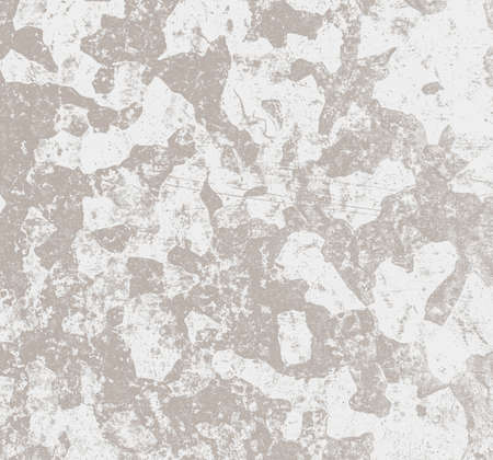 Grey grunge texture. Aged rusty background. Weathered stains fabric. Scratched grunge wallpaper. Retro dust splash.