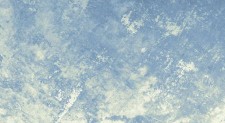 Rough grunge material. Vintage grainy wallpaper. Abstract stains wall. Blue grunge texture. Overlay old design. Ancient Фото со стока