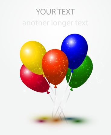 Vector hot air balloons Stock Vector - 13974938