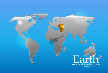 nature earth map outline background Vector