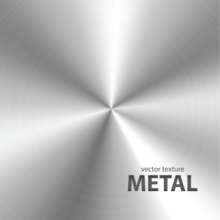 platin: Vektor geb�rstetem Metall Textur Hintergrund Illustration
