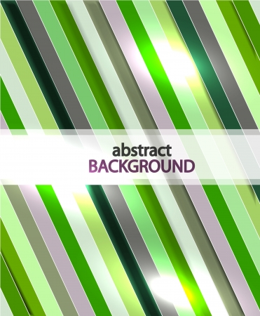 Vector color green line background Vector