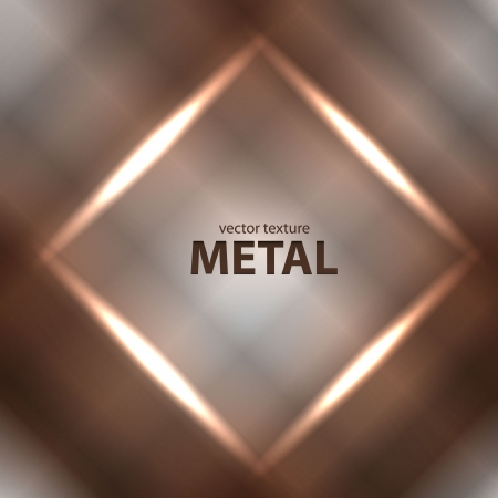 Vector light brushed metal texture Ilustrace