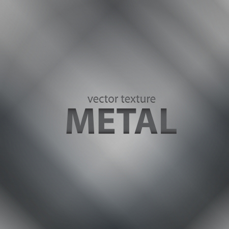 brushed aluminum: Vector gray brushed metal texture