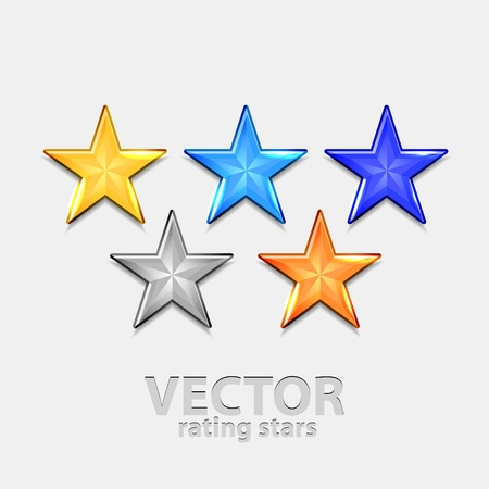 estimation: Shiiny vector stars for rating