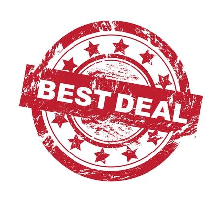 Best deal grunge vector rubber stamp Stock Vector - 15045879