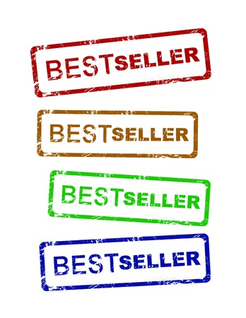 bestseller: Vector best seller grunge stamp