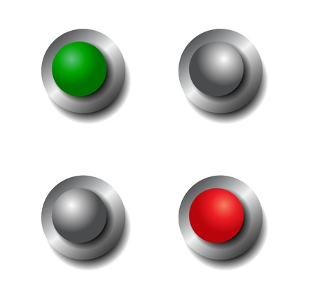 toggle: Vector on  off power switches