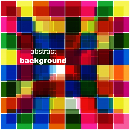 Vector mosaic tile background
