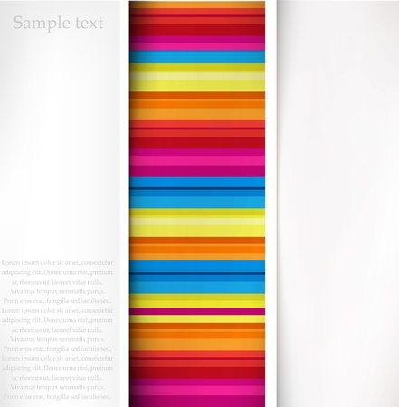 Vector color line background