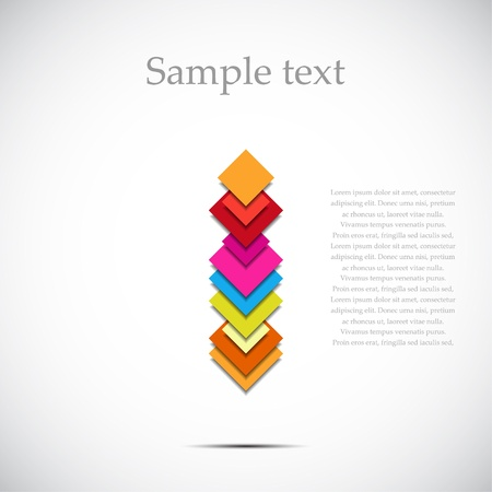 banner effect: Abstract color background