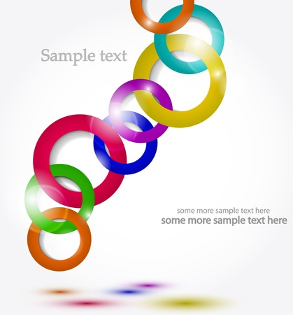 Shiny colofrul rainbow circle vector background Stock Vector - 17826941