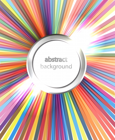 brightly colored: Rainbow rays background