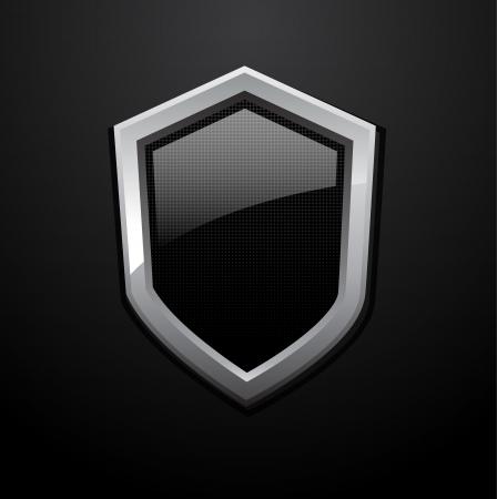antivirus: Shiny vector shields