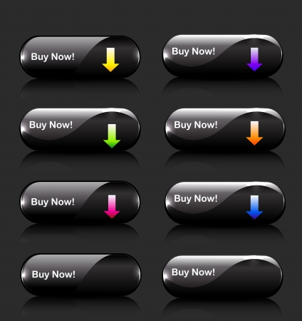 Vector download buttons Vector