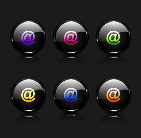 chatbox: Vector e-mail icon