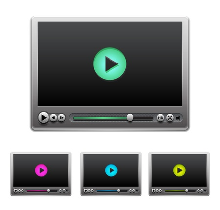 portable player: Vector media player
