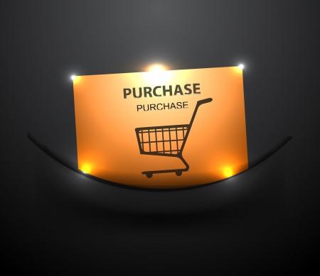 Vector shopping buttons Stock Vector - 17827147