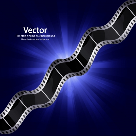 undressing: Vector film strip ciinema background Illustration