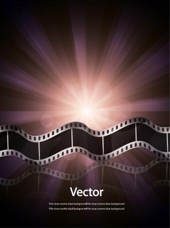 undressing: Vector film strip cinema background