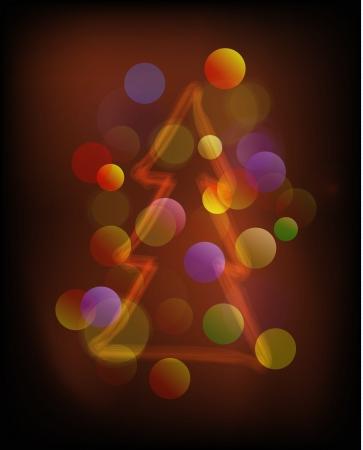 Shiny rays Christmas background