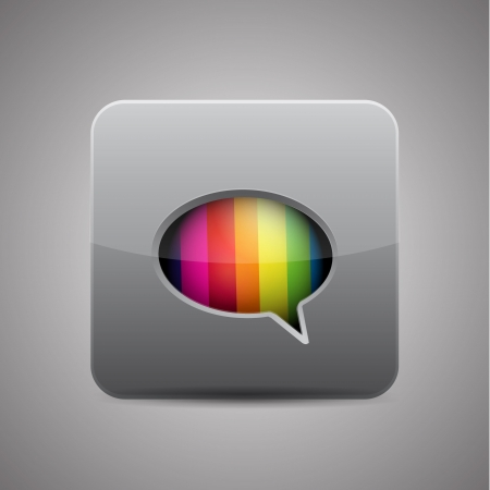 chat room: Vector messager  chat application icon