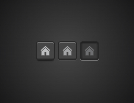 Vector home buttons Vector