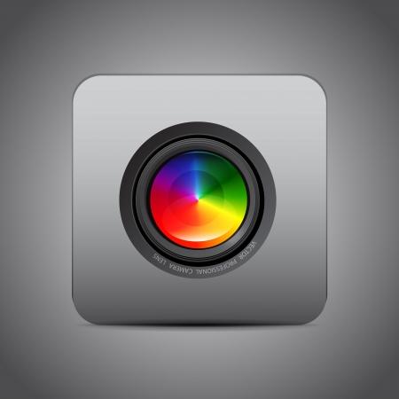 Vector camera application Ilustrace