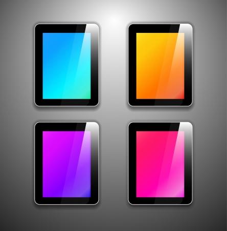 Vector tablet pc Stock Vector - 17863339