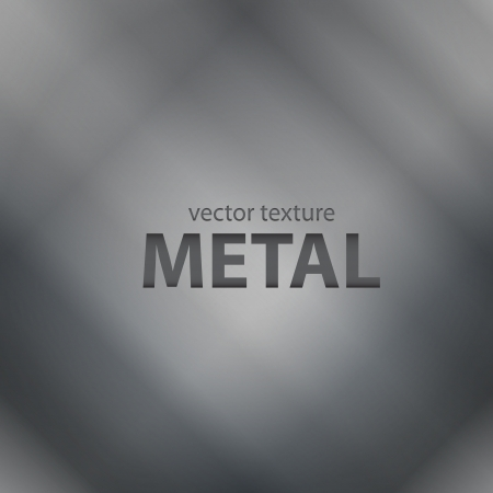 hard cover: Vector metal background