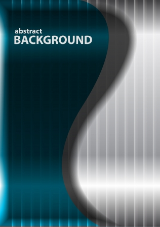 Metal wave background