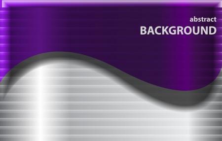Metal wave background Stock Vector - 17863498