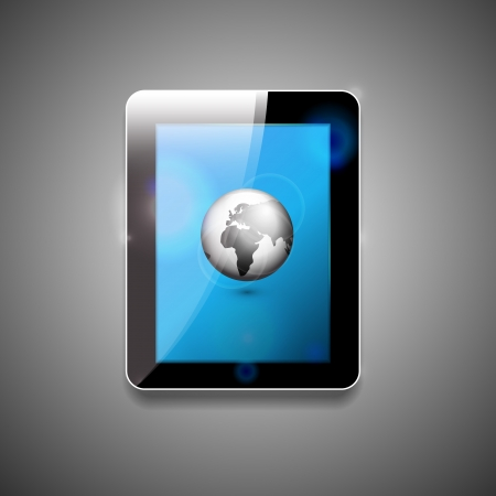 Vector tablet pc Stock Vector - 17863409