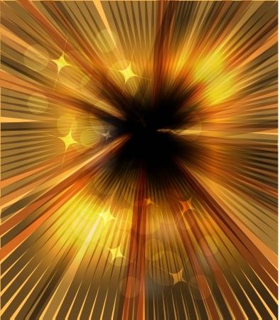 Shiny rays background