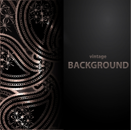 backgorund: Vector Paisley backgorund