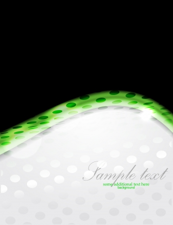 Dotted shiny wave background Stock Vector - 18053609