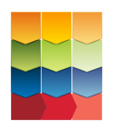 commercial painting: Vector abstract mosaic background