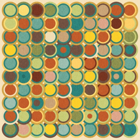 Vector retro mosaic background Stock Vector - 19547351