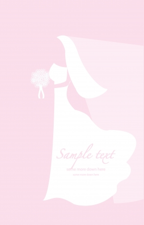 Soft wedding background Vector