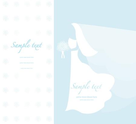 Soft wedding background Vector