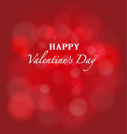 Happy Valentines Day bokeh background photo