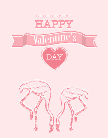 Pink Valentines day colorful background photo